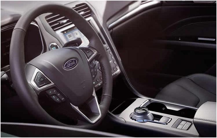 2017 Fusion Hybrid Interior Styling