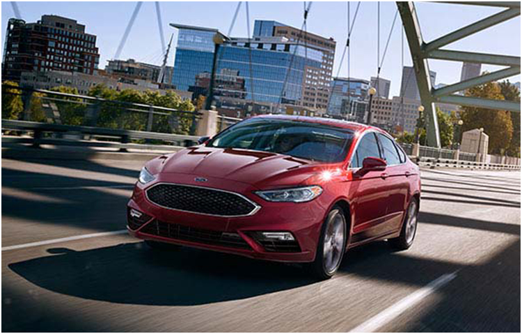 2017 Ford Fusion Model Exterior Style