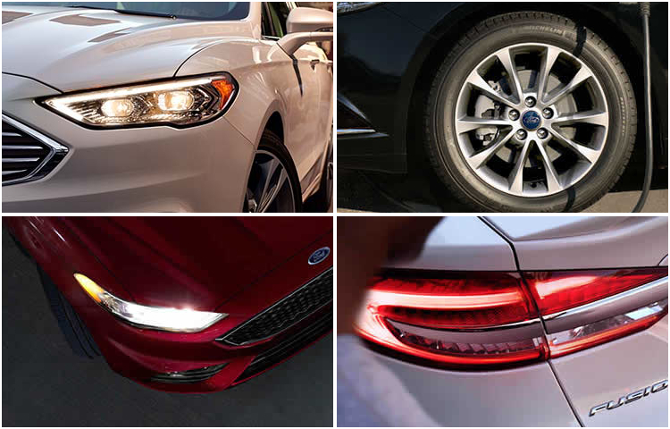2017 Ford Fusion Model Exterior Design