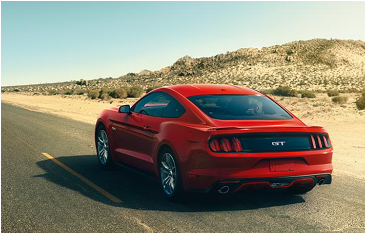 2017 Ford Mustang Model Exterior Design