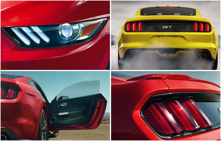 2017 Ford Mustang Model Exterior Style