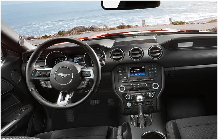 2017 Ford Mustang Model Interior Style