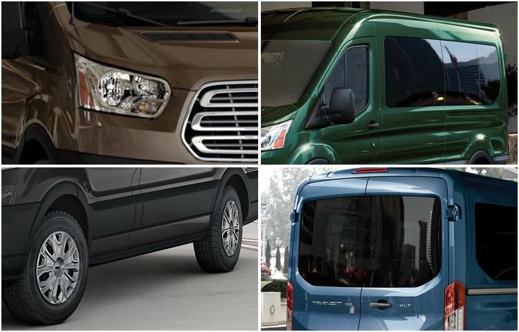 2017 Ford Transit Passenger Wagon Exterior Design