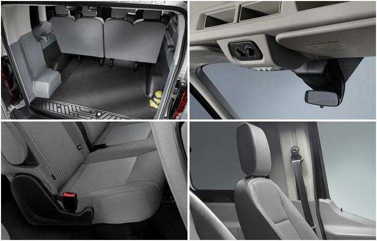 2017 Ford Transit Passenger Wagon Interior