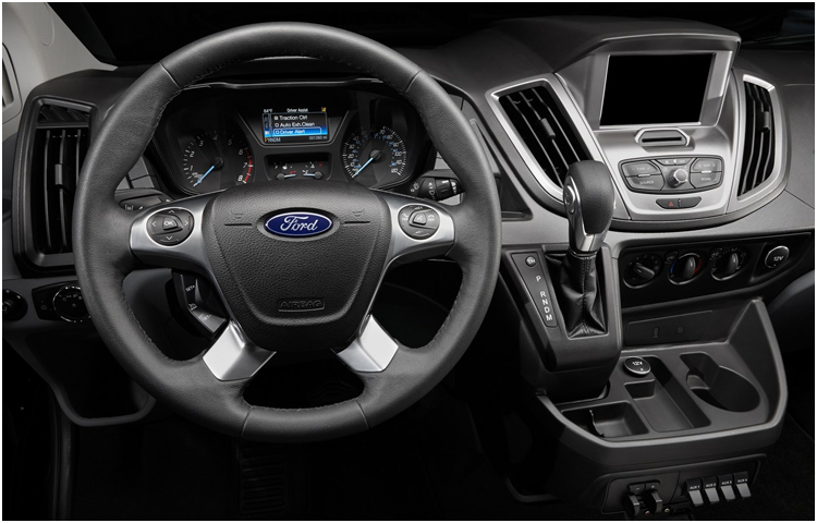 2017 Ford Transit Passenger Wagon Interior Style