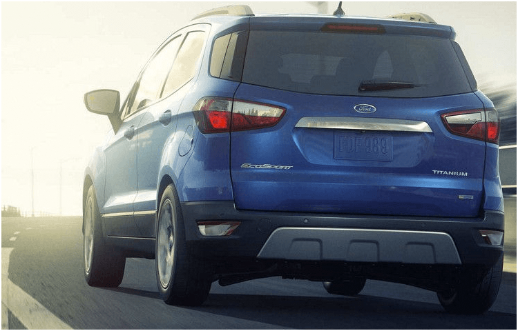 2018 Ford EcoSport body exterior features