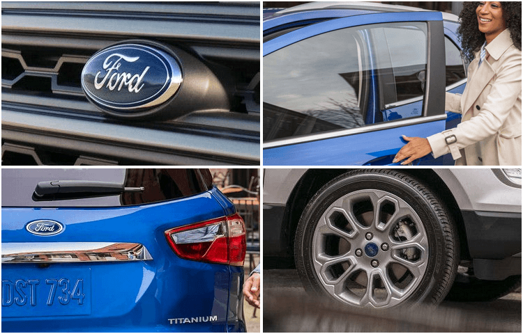 2018 Ford EcoSport body exterior styling