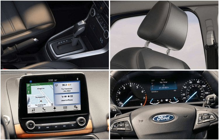 2018 Ford EcoSport body interior styling