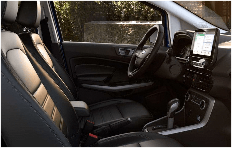 2018 Ford EcoSport body interior features