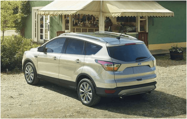 2018 Ford Escape body exterior features