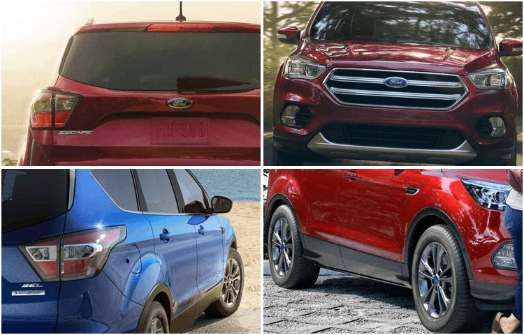 2018 Ford Escape Exterior Style