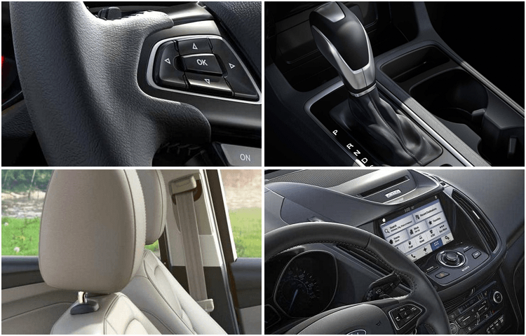 2018 Ford Escape body interior styling