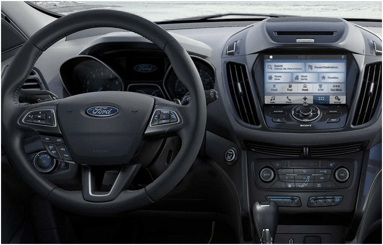 2018 Ford Escape Interior Styling
