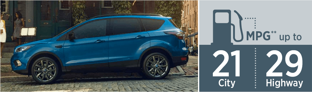 2018 Ford Escape model MSRP & MPG