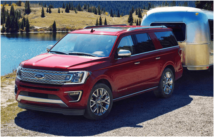 2018 Ford Expedition body exterior features