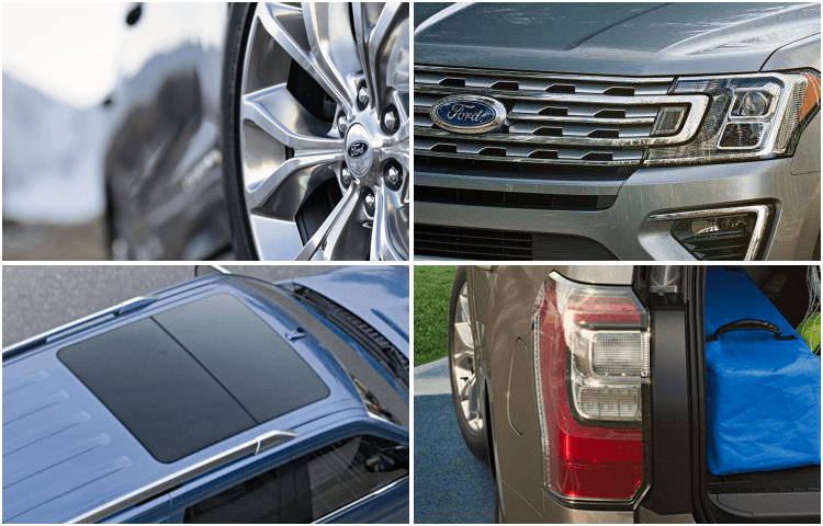 2018 Ford Expedition body exterior styling