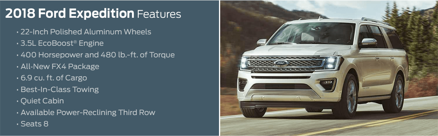 2018 Ford Expedition model features