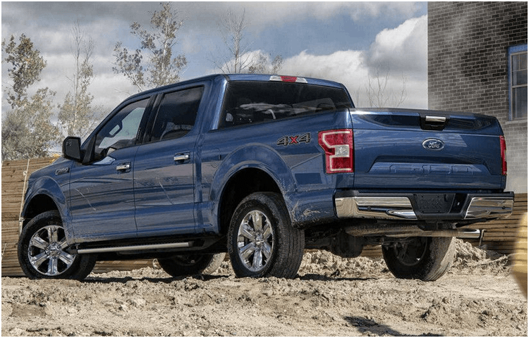 2018 Ford F-150 body exterior features