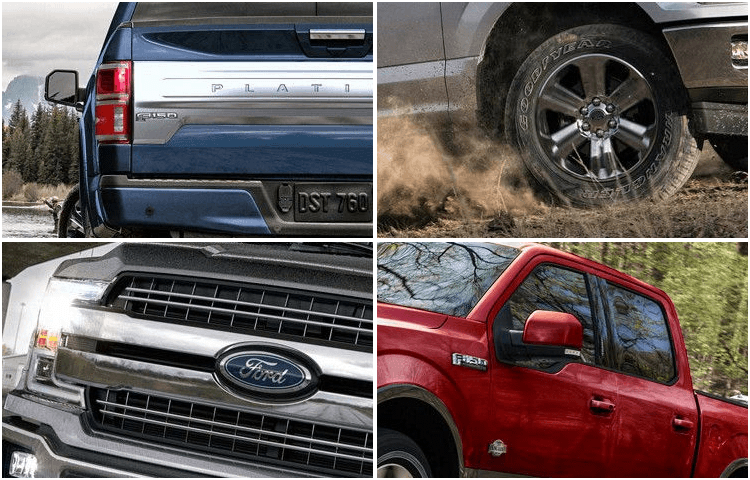 2018 Ford F-150 body exterior styling