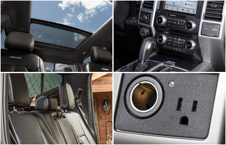 2018 Ford F-150 body interior styling