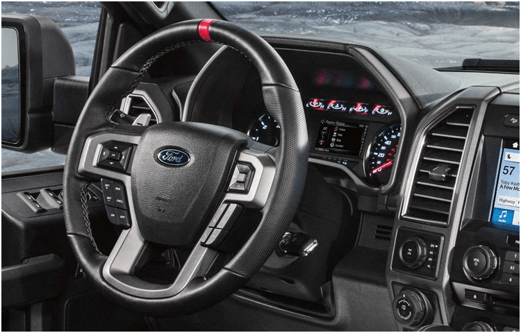 2018 Ford F-150 body interior features