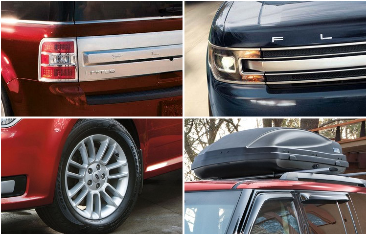 2018 Ford Flex Exterior Design & Features