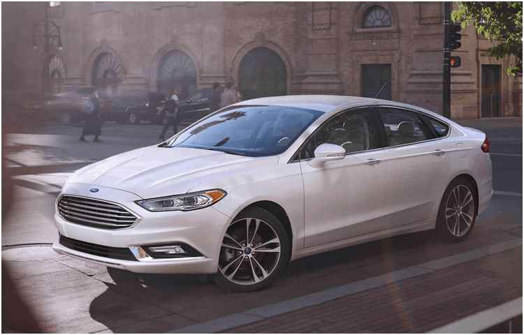 2018 Ford Fusion Hybrid body exterior features