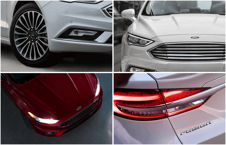 2018 Ford Fusion Hybrid body exterior styling