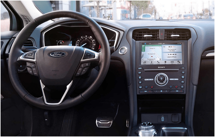 2018 Ford Fusion Hybrid body interior features