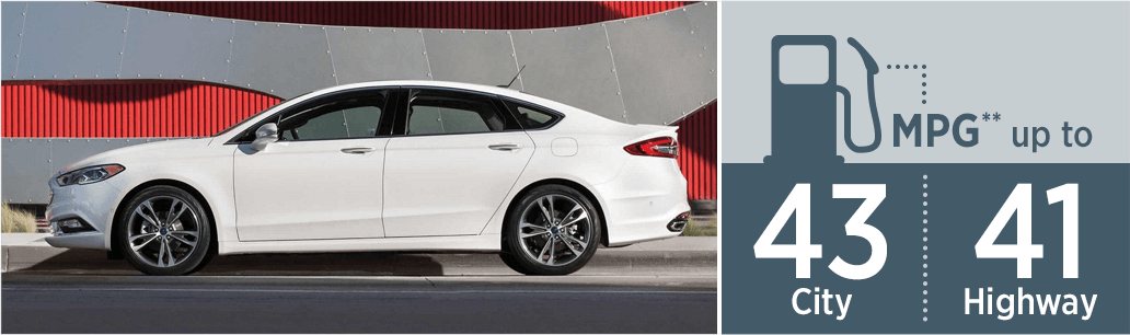 2018 Ford Fusion Hybrid MSRP and MPG