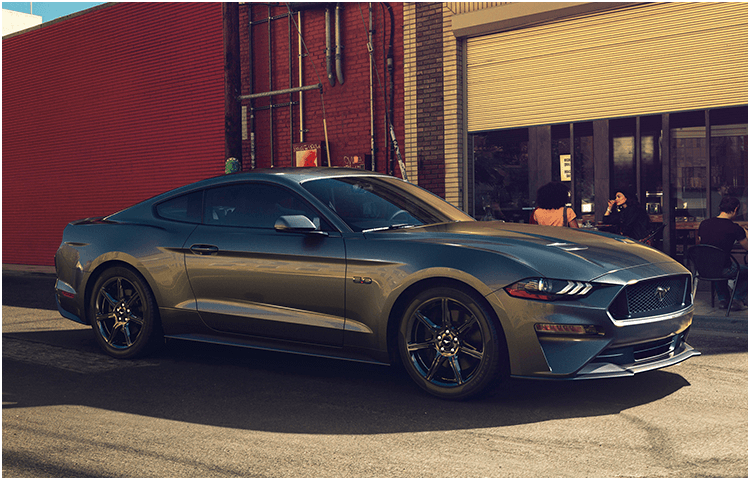 2018 Ford Mustang body exterior features