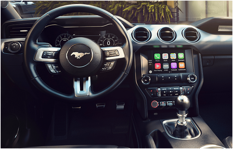 2018 Ford Mustang body interior features
