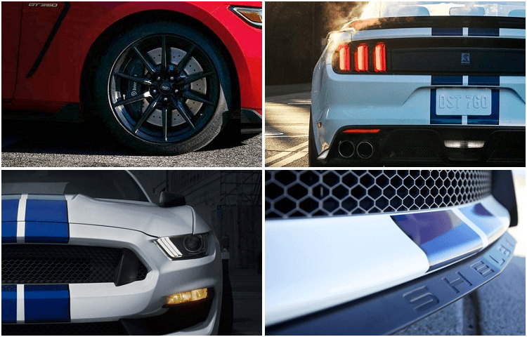 2018 Ford Mustang Shelby GT350 Exterior Styling