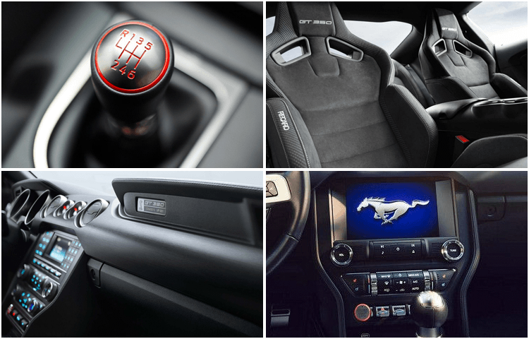 2018 Ford Mustang Shelby GT350 Interior Style