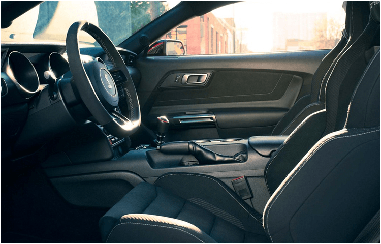2018 Ford Mustang Shelby GT350 Interior Design