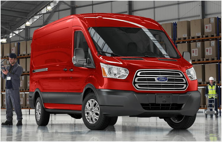 2018 Ford Transit Cargo Van body exterior features