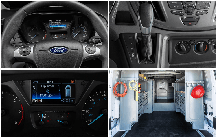 2018 Ford Transit Cargo Van body interior styling