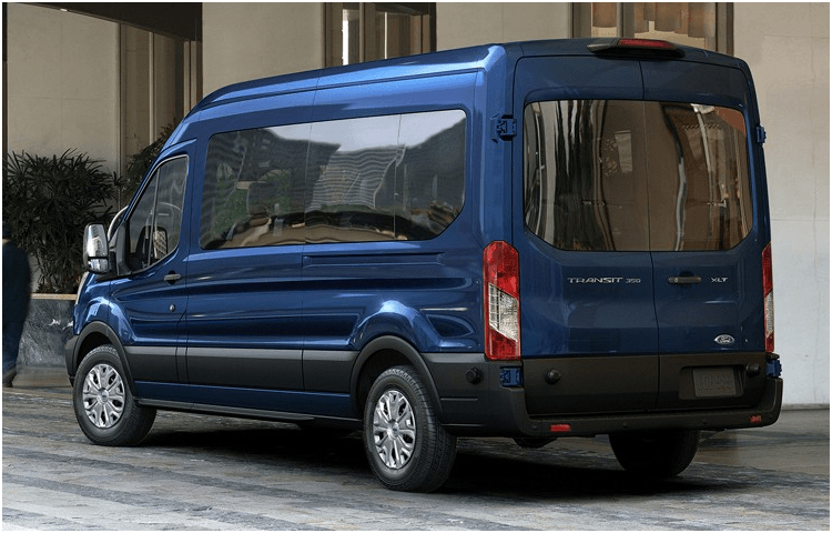 2018 Ford Transit Passenger Wagon body exterior features