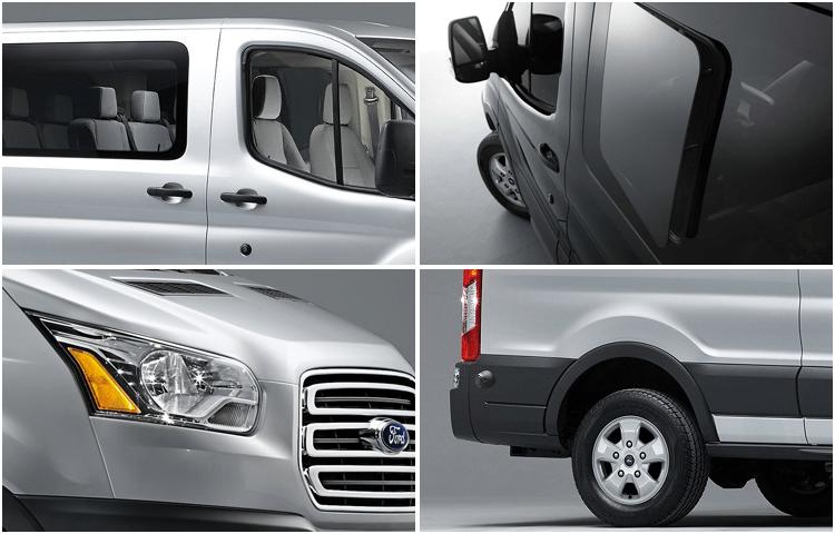 2018 Ford Transit Passenger Wagon body exterior styling