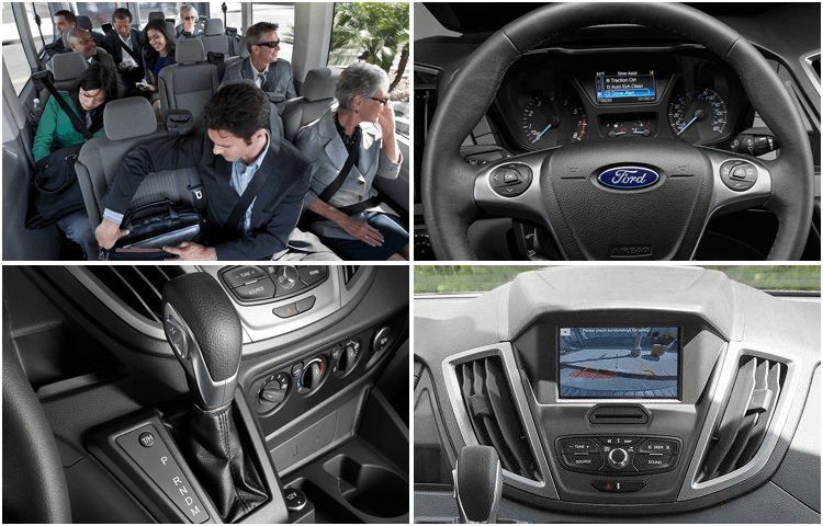 2018 Ford Transit Passenger Wagon body interior styling