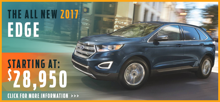 Click To View  Ford Edge Model Information