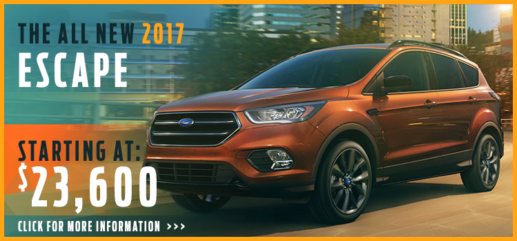 Click to View 2017 Ford Escape  Model Information