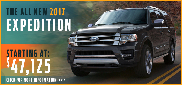 Click to View 2017 Ford Expedition Model Information