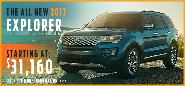 Click to View 2017 Ford Explorer  Model Information