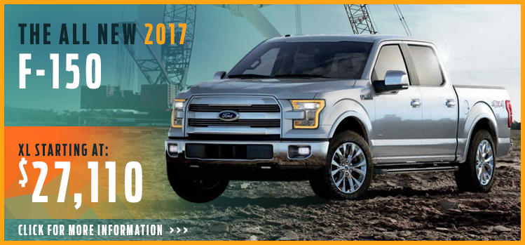 Click to research the new 2017 Ford F-150 model in Lakewood, WA