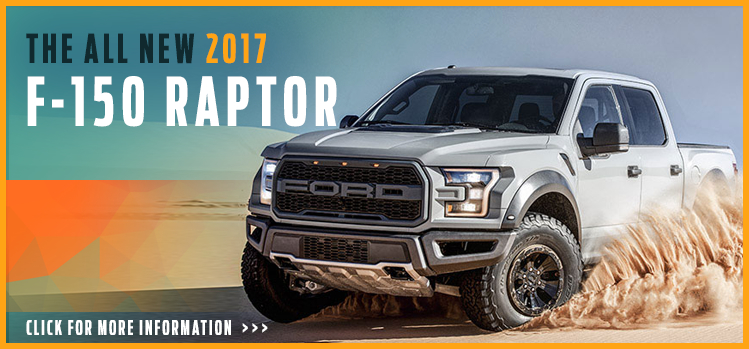 Click to View 2017 Ford F-150 Raptor Model Information