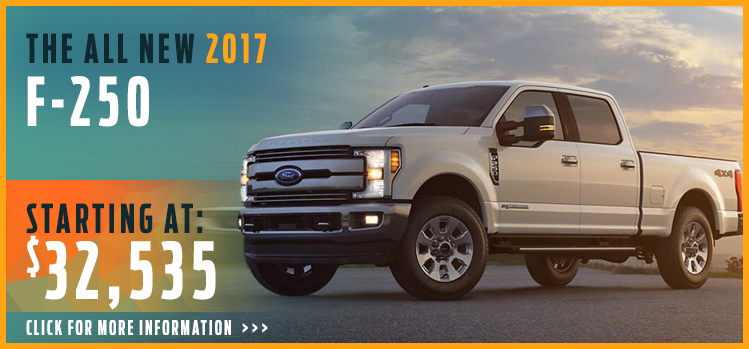 Click to View 2017 Ford F250 Model Information