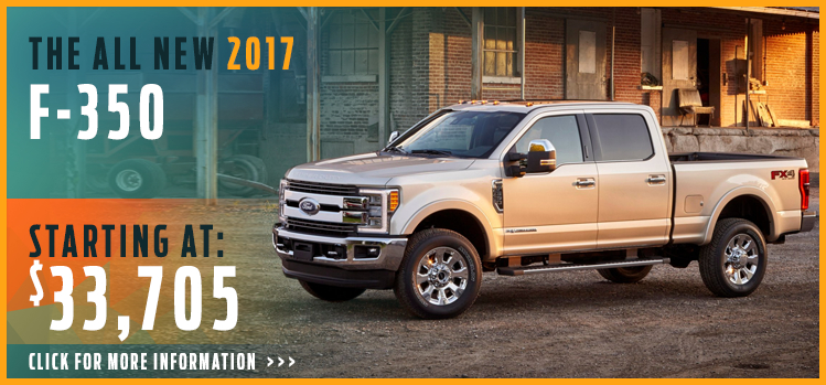 Click to View 2017 Ford F350 Model Information