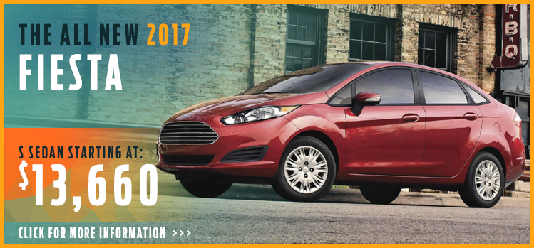 Click to View 2017 Ford Fiesta Model Information