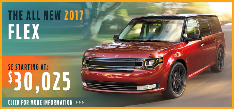 Click to View 2017 Ford Flex Model Information